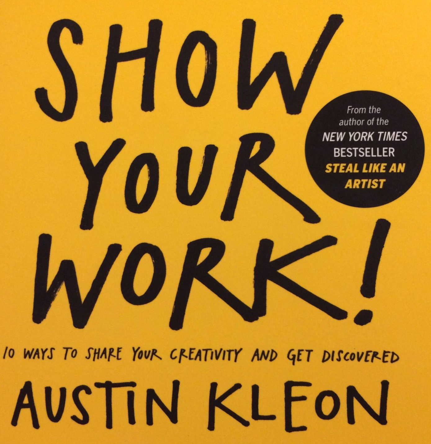 Book Cover: Show Your Work!