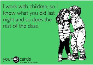 Quote: Kids telling what parents do