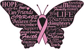 Breast Cancer Logo Butterfly