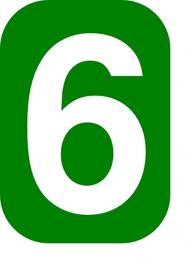 The number six
