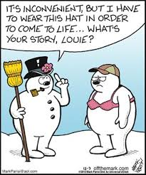 Snowman humor - Frosty and Friend