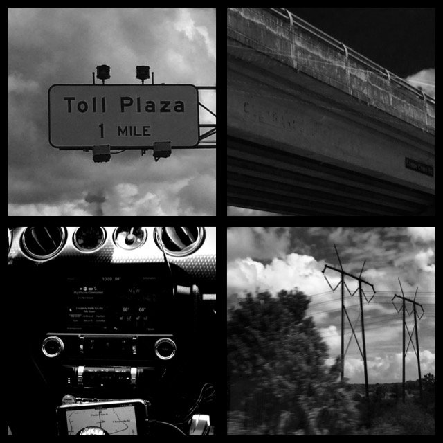 Photo Collage from the Car