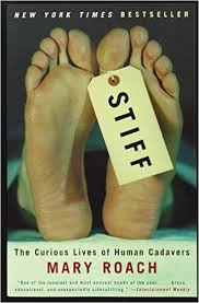 Book cover: Stiff, by Mary Roach