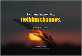 Tony Robbins quote about change