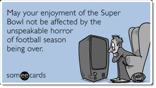 Super Bowl Somee Card