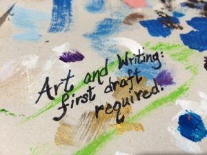 quote about art and writing in six words